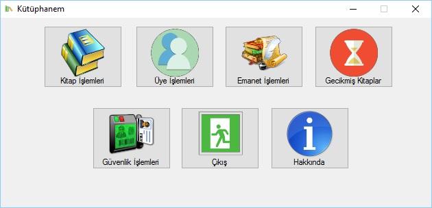 C# Kütüphane Otomasyon Uygulaması